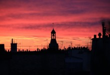 Le Clocher de l'église Notre-Dame des Blancs Manteaux