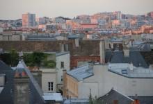 Coucher de soleil au Nord de Paris