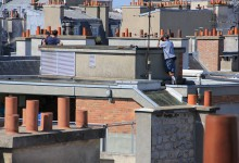 Jeunes photographes, puissance toits. Young photographers, the power of roofs.